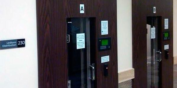 Автоматическая  дверь и конвейер для одежды